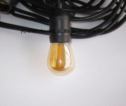 LED Outdoor Weatherproof Commercial Grade String Lights to Fake Something Antique