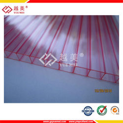 Cheap PC Triple-Wall Hollow for Roofing/PC Hollow Sheet