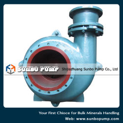 OEM Large Flow Centrifugal Slurry Pump Metal Lined