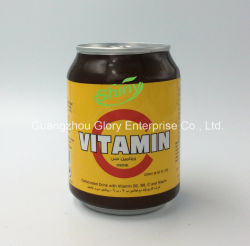 250ml Aluminum Tin Shiny Brand Carbonated Energy Drink with Vitamin B12, B6. B5, B3b1 and Niacin