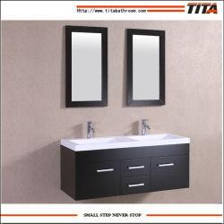 Double Sinks Hanging Floating Bathroom Vanity Wall Mounted Cabinet