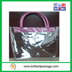 Put The Skin Care Product Transparent  Material PVC Bag