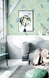 Modern/3D/Damask Wall Paper, Home Decoration PVC Wall paper
