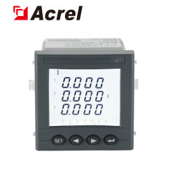 Acrel Digital 3 Phase AC Ammeter Ampere Meter Amc72L-Ai3