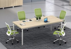 White Customized Metal Steel Office Conference Table Frame with Ht101-1
