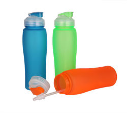 2017 Promotion Gift Plastic Water Bottle (HA09055)