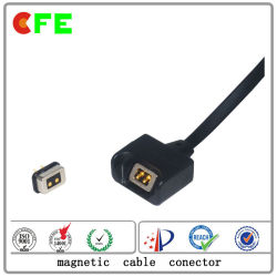 Male and Female Magnetic Cable Connector for Memory Card
