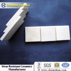 Anti-Wear Alumina Ceramic Brick Tile Lining with Interlocking
