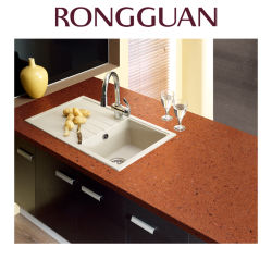 Brown Color Good Quality Quartz Stone Countertop