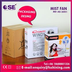 Portable Spray Cooling Wholesale Stand Water Mist Fan (MF-40-S001)