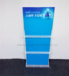 Store Laundry Detergent Metal Hook Display Stands Wire Display Rack