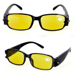 a45eb68da21 Unisex Fashionable Convenient Readers Spectacles Reading Glasses with LED  Light Factory Wholesale