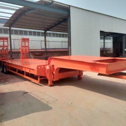 Chengda 2 Axles 3 Axles 4 Axles Truck Trail Goose-Neck Q235B Material Heavy Duty ISO Lowboy for Sale