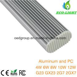 180 Beam Aluminium & PC 12W G23 LED Bulb SMD2835 Pl LED Down Light