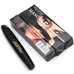 5637ea3e554 Miss Rose 4D Fiber Lengthening Extension Volume Mascara Black Ink Waterproof  3D Fiber Eyelash Extension Mascara