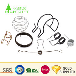 China Manufacturer Customized Wire Forming Spiral Clip Precision Steel Coil Hardware Parts Torsion Deformed Spring