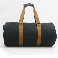 Mens Waterproof Polyester Weekend Duffel Gym Sports Travel Bag