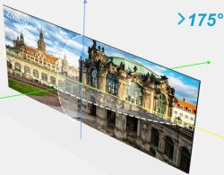 Wind Through High Transparent Lighting LED Video Wall for Glass Windows Stage P3.91 P7.81 P3.9-7.8