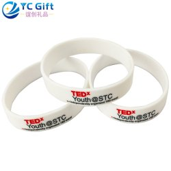Wholesale Personalized Promotion Items Tyvek Glow in The Dark Silicone Bracelet Factory Custom Fashion Sport Products Elastic Wristband for Promotional Gift