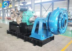Complete Diesel Pump Set Reducer Coupling Water Cooled Slurry Pump