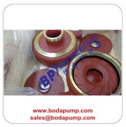 Red Slurry Pump Impeller Slurry Pump Liners