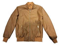 Men's PU Jacket with Competitive Price