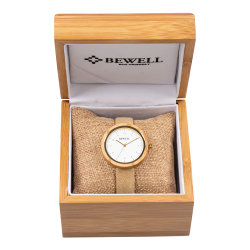 OEM Custom Fashion Casual Genuine Leather Strap Ladies Wrist Watch