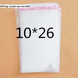 Custom Transparent PVC Bag Clear OPP Garment Packaging Bag