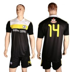 Manufacture Football Shirt Custom Blank Team Soccer Uniform