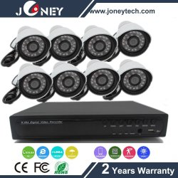 1.3MP Poe IP Camera NVR Outdoor Security Camera System