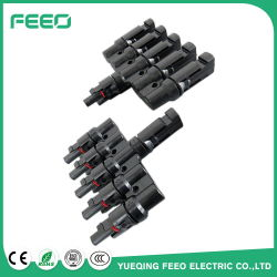 Factory Price China Cable Solar Panel Connectors Wholesale Copper Wire Splitter Mc4 T Branch for Solar Panel Installation