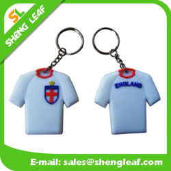 Wholesale Custom Sports PVC Rubber Key Chain Product (SLF-KC016)