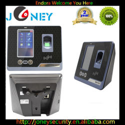 F501 Biometric Identification Face+Fingerprint+ ID Card with HD 4.3 Inch TFT LCD Touch Screen
