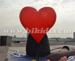 Decoration Giant Iflatable Heart Shape Holland Carton for Sale K9035
