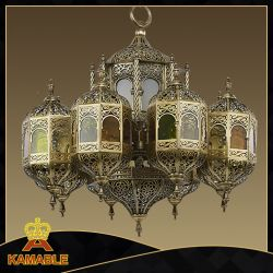 Wholesale big chandeliers china wholesale big chandeliers arabic style brass big customized moroccan chandelier ka009 aloadofball Choice Image