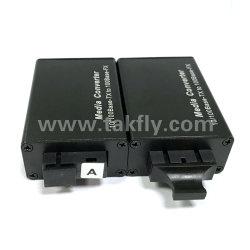 Mini 10/100base SFP Port Fiber Optic Media Converter/Transmitter