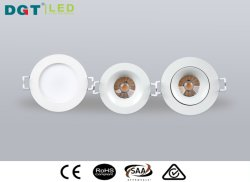 Hot 5W Plastic SMD 2835 Recessed Indoor LED Downlight