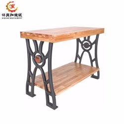 OEM Sand Casting Table Legs Cast Iron Leg Bench Leg