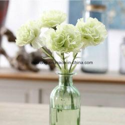 Artificial Carnation Balls Flower Stem for Mother's Day Artificial Carnation Flower for Sale