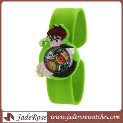 Cartoon Children' Watch Cute Wristwatch Fashion Girls Boys Kids Silicone Quarts Watches Student Sports Clock Gift