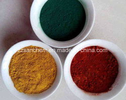 Synthetic Iron Oxide Red Yellow Black for Paint and Pigment