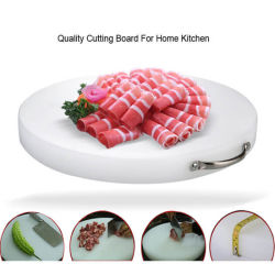 Plastic Cutting Board with Handle for Commercial and Home Kitchen