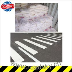 White and Yellow Reflective Traffic Line Thermoplastic Road Marking Paint