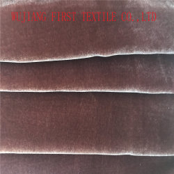 Pleated Velvet Fabric, Crushed Velvet Fabric
