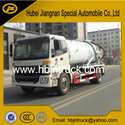 Foton 12000 Liters Vacuum Sewage Suction Truck