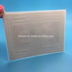 C Tamper Evident HF UHF RFID Car Windshield Tags for Vehicles