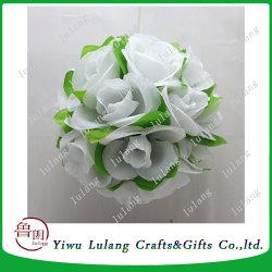 China christmas silk flowers christmas silk flowers manufacturers silk rose flower kissing balls large hanging ball christmas wedding mightylinksfo