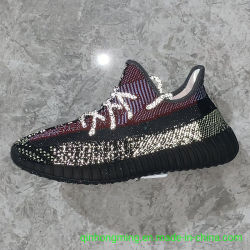 Yeezy 350 V2 Black Static Yecheil Men Sports Shoes