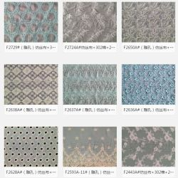 fd01ab872f2 Chemical Embroidery Allover Lace Fabric Factory Clothing