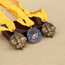 Bespoke 3D Marathon Running Finisher Sports Military Award Taekwondo Souvenir Olympic Triathlon Medallion Karate Medal